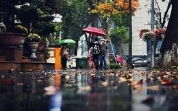 Hà Nội có mưa, trời lạnh 20 độ C