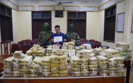Cận cảnh vụ bắt 4 đối tượng, thu giữ hơn 3,5 tạ ma túy
