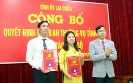 Lai Châu bổ nhiệm 2 tân Phó Chánh Văn phòng Tỉnh ủy