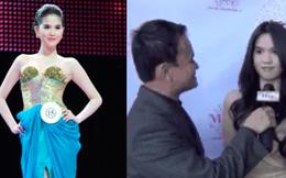 Clip phỏng vấn sau đăng quang Hoa hậu 10 năm trước của Ngọc Trinh: Body đẳng cấp từ xưa nhưng phát biểu ấp úng quá!