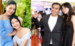 Sắc vóc tuổi 16 gây chú ý của ái nữ nhà MC Quyền Linh và bà xã đại gia