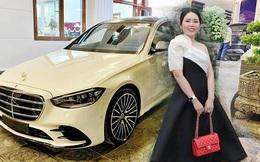 Nữ đại gia lan Quảng Ninh chi gần 30 tỷ sắm Mercedes-Benz S 500 2021 đầu tiên Việt Nam và Mercedes-Maybach GLS 600