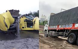 Húc đuôi ô tô tải, container rụng buồng lái - hiện trường vụ tai nạn khiến người chứng kiến sốc