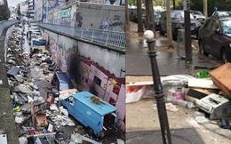 Những hình ảnh gây sốc cho thấy thành phố Paris hoa lệ 'ngập trong rác' khiến cộng đồng mạng thất vọng tràn trề, chuyện gì đang xảy ra?