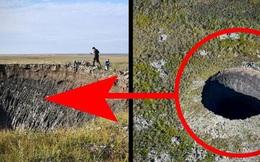 Bí ẩn những miệng hố khổng lồ liên tục xuất hiện ở Nga