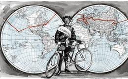 """Hành trình """"vô tiền khoáng hậu"""" của người đàn ông Nga đạp xe vòng quanh thế giới cách đây 100 năm"""