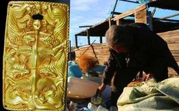 Nhặt được cục vàng, ông lão ve chai đem đi nấu chảy rồi bán - Chuyên gia tức giận: 300 triệu NDT không cánh mà bay!