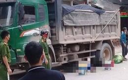 Đang đi tự phanh xe ngã ra đường, nam thanh niên lao vào gầm xe tải tử vong