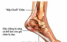 Bi đau gót chân là biểu hiện của bệnh gì? Có nguy hiểm không?