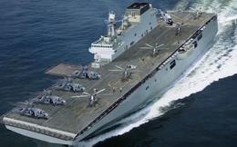 Số hiệu thân tàu tiết lộ gì về tàu đổ bộ cỡ lớn Type 075 mới của Trung Quốc?