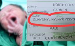 Bé trai mang tên cực lạ: Glhynnyl Hylhyr Yzzyghyl, dân mạng thắc mắc quá nên ông nội phải đăng đàn giải thích ý nghĩa phía sau