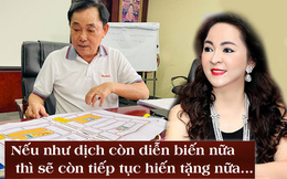 """Vợ Dũng lò vôi, bà Phương Hằng: """"Nếu dịch Covid-19 còn kéo dài, vợ chồng tôi tiếp tục hiến tặng 1.000 tỷ đồng"""""""