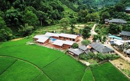 Ngôi trường của người dân tộc Thái ở Sơn La đẹp như tranh vẽ