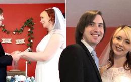 """7 lần phải hủy hôn vì dịch COVID-19, cô dâu kém may mắn nhất nước Anh cuối cùng đã """"về dinh"""""""