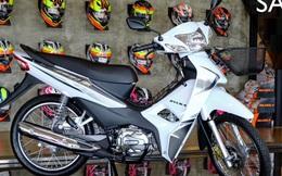 Cận cảnh mẫu xe máy Thái đi 100km tốn 2,2 lít xăng, giá 23 triệu -  thách thức Honda Wave Alpha