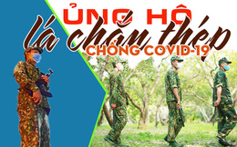 Cập nhật ủng hộ Bộ đội Biên phòng Tây Nam chống dịch Covid-19
