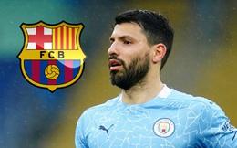 Sergio Aguero giảm lương, mở đường đến Barca