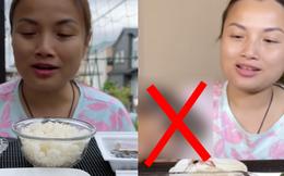 Quỳnh Trần JP tiếp tục ăn uống kinh dị sau màn nhai chân gấu phản cảm, tuy nhiên đã biết thay đổi 1 điểm làm netizen 'nguôi ngoai'