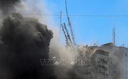 Hãng tin AP kêu gọi điều tra vụ Israel không kích đánh sập tòa tháp Jala