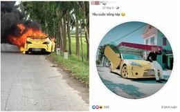 Siêu xe bất ngờ bốc cháy dữ dội, người đàn ông mới đăng ảnh khoe xe đầy hào hứng cách đây không lâu