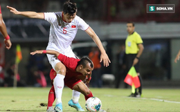 """Báo Indonesia: """"Văn Hậu cố tình chơi xấu; Văn Hậu sẽ bị trả thù ở vòng loại World Cup"""""""