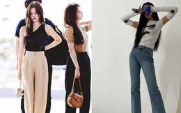 Chiều cao khiêm tốn nhưng Jennie lại có những cách diện quần dài ''hack'' dáng đỉnh cao, kéo chân miên man