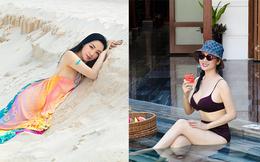 Cận cảnh sắc vóc trẻ đẹp, nóng bỏng của Hoa hậu Giáng My ở tuổi 50