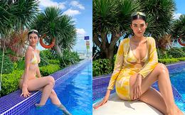 Hậu chia tay tỷ phú U80, người mẫu Việt tung loạt ảnh bikini nóng bỏng