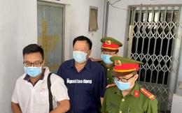 Hình ảnh khám xét, bắt giam cựu Giám đốc Sở Tài nguyên - Môi trường Khánh Hòa
