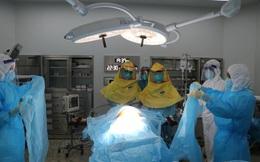 Mổ cấp cứu cho thai phụ mắc Covid-19