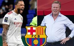 Depay chỉ đến Barcelona nếu Ronald Koeman ở lại