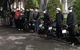 CSGT vây bắt nhóm quái xế tụ tập đua xe trên Quốc lộ
