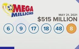 Một người trúng trọn vẹn giải độc đắc 515 triệu USD ở Mỹ