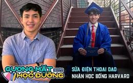 Nam sinh Việt sửa điện thoại dạo nhận học bổng toàn phần 6,7 tỷ của ĐH Harvard: Nói 3 thứ tiếng, muốn tự mở công ty