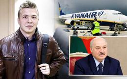 """EU phẫn nộ vụ Belarus chặn máy bay trên không, bắt người như phim: """"Hành động khủng bố nhà nước!"""""""