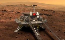 Tàu thăm dò Chúc Dung khám phá bề mặt sao Hỏa