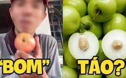 Thanh niên đăng clip hỏi vì sao người miền Nam hay gọi trái táo là 'bom', ngay cả dân địa phương có khi còn chưa biết lý do