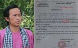 """Lãnh đạo xã Đại Lãnh nói về văn bản trong clip của Hoài Linh, lộ chi tiết """"do người quen đề nghị"""""""