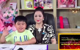 Con trai bà Phương Hằng xuất hiện trong livestream của mẹ, nói 1 nguyện vọng bất ngờ