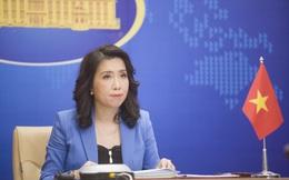 Việt Nam lên tiếng việc Trung Quốc tuyên bố trục xuất khi tàu Mỹ hoạt động gần Hoàng Sa