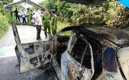 Kinh hoàng phát hiện bộ xương người trên ghế lái chiếc taxi cháy rụi ở An Giang: Dữ liệu ghi lại xe mất định vị