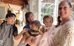 Hương Lan nói về con dâu Mỹ: Tôi hạnh phúc khi thấy con bé lo cho chồng nó