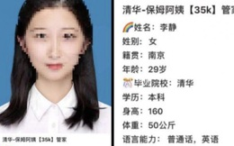 Sinh viên tốt nghiệp Đại học danh giá ở Trung Quốc đi xin làm người giúp việc