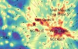 Thiên hà chứa Trái Đất bị sợi xích ma nối với các thiên hà khác
