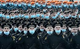 24h qua ảnh: Binh sĩ Nga tập duyệt binh kỉ niệm ngày Chiến thắng