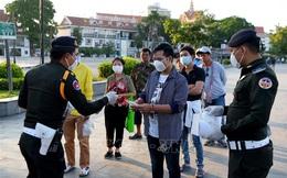 Campuchia thêm 841 ca mắc mới COVID-19