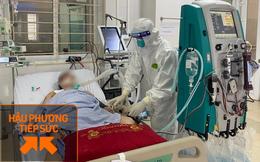 Túc trực ngày đêm điều trị cho 40 bệnh nhân Covid-19 nặng và nguy kịch tại tâm dịch Bắc Giang