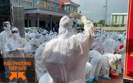 Tổng lực hơn 30 nghìn nhân viên y dược lên đường hỗ trợ Bắc Giang, Bắc Ninh