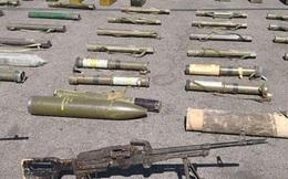 Bí mật bất ngờ sau kho vũ khí của IS mới được phát hiện ở Homs, Syria