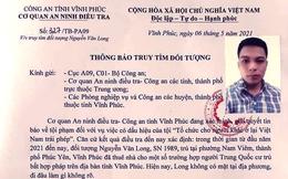 """Truy tìm nam thanh niên tổ chức cho người Trung Quốc sống """"chui"""" tại Vĩnh Phúc"""